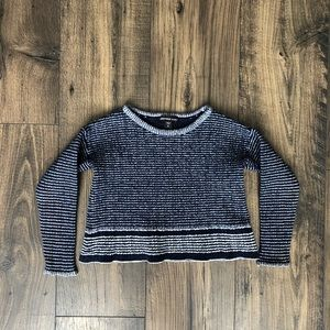 James Perse Los Angeles Navy Sweater Top Sweater